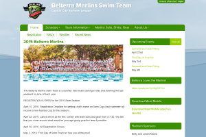 Belterra Swim Team Website