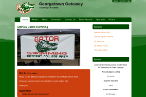 Georgetown Gateway Website