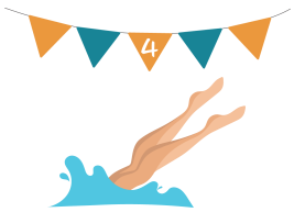 Flag 4 with Diver